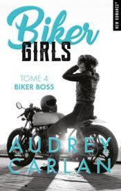 Biker girls T.4 ; Biker Boss - Couverture - Format classique