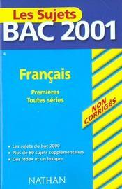 Francais Toutes Series - Intérieur - Format classique