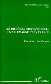 Diplomes Professionnels En Allemagne Et En France (Les - Couverture - Format classique