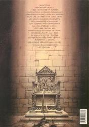 Le trone d'argile t.1 ; le chevalier a la hache - 4ème de couverture - Format classique