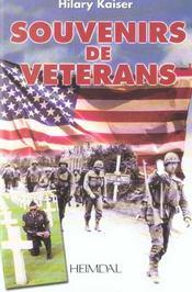 Souvenirs de veterans - Intérieur - Format classique
