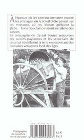 Saisons Paysannes (Poche)(Les) - 4ème de couverture - Format classique