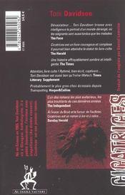 Cicatrices - 4ème de couverture - Format classique