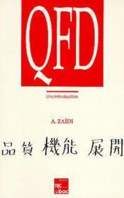 Qfd une introduction - Couverture - Format classique