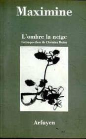 Ombre La Neige (L) - Couverture - Format classique