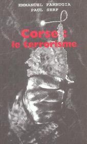 Corse ; le terrorisme - Intérieur - Format classique