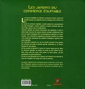 Les jardins du monde équitable - 4ème de couverture - Format classique