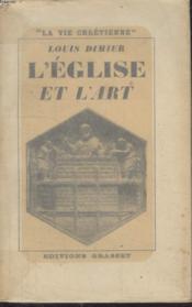 L'Eglise Et L'Art. - Couverture - Format classique