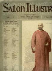 Salon N° 3 Vol 1 Du 1 Juin 1888. - Couverture - Format classique
