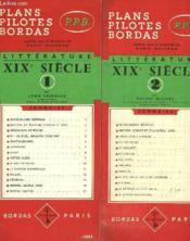 LITTERATURE XIXe SIECLE - Couverture - Format classique