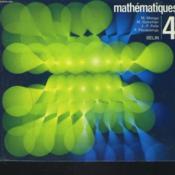 Mathematiques. Classe De Quatrieme. - Couverture - Format classique