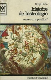 Histoire D El'Astrologie - Science Ou Superstition? - Couverture - Format classique