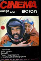Revue De Cinema - Image Et Son N° 372 - Yilmaz Guney - Shohei Imamura - Cannes 82 - Pologne - Villes Imaginaires - Et Toute L'Actualite Cinematographique - Couverture - Format classique