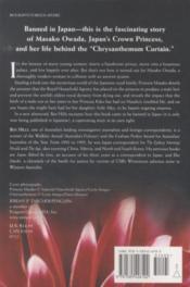 Princess Masako - Prisoner Of The Chrysanthemum Throne - 4ème de couverture - Format classique