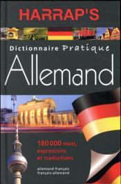 Harrap's pratique allemand - Couverture - Format classique