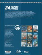 24 heures du Mans ; 1958-1960 ; la fin du règne britannique - 4ème de couverture - Format classique