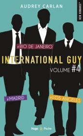 International guy ; INTEGRALE VOL.4 ; T.10 A T.12 ; #Madrid, #Rio de Janero, #Los Angeles - Couverture - Format classique