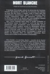 Mort blanche - Couverture - Format classique