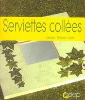 Serviettes collees - Intérieur - Format classique