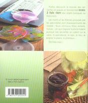 Serviettes collees - 4ème de couverture - Format classique