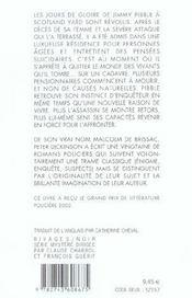 Retour Chez Les Vivants - 4ème de couverture - Format classique