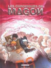 Les chroniques de magon t.4 ; exil - Couverture - Format classique