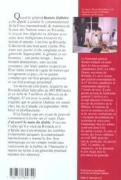 J Ai Serre La Main Du Diable - 4ème de couverture - Format classique