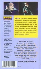 Garou De A A Z - 4ème de couverture - Format classique