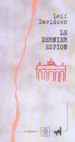 Le dernier espion roman - Intérieur - Format classique