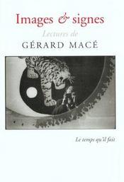 Images Et Signes Cahier Mace - Intérieur - Format classique