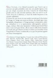 Images Et Signes Cahier Mace - 4ème de couverture - Format classique