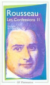 Litterature et civilisation - t02 - les confessions - Intérieur - Format classique