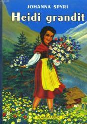 Heidi Grandit. - Couverture - Format classique