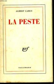 La Peste. - Couverture - Format classique
