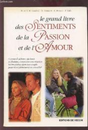 Grand Livre Des Sentiments ; Passion ; Amour - Couverture - Format classique