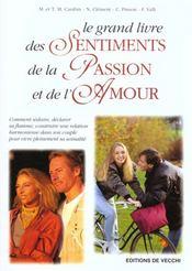 Grand Livre Des Sentiments ; Passion ; Amour - Intérieur - Format classique