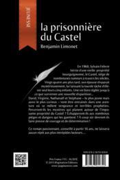 La prisonnière du Castel - 4ème de couverture - Format classique