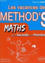 Les vacances de method'S ; mathématiques ; de la 2nde a la 1ère S - Couverture - Format classique