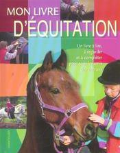 Mon Livre D'Equitation - Intérieur - Format classique
