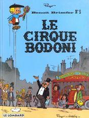 Benoît Brisefer t.5 ; le cirque Bodoni - Intérieur - Format classique