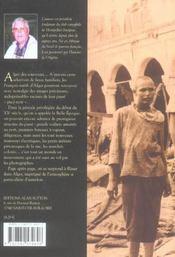 Alger - 4ème de couverture - Format classique