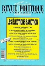 Elections Sanctions - Couverture - Format classique