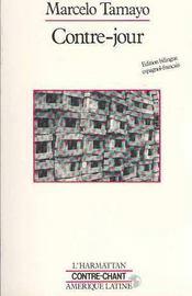 Contre-Jour : Cahier De Chansons D'Emigration ... - Couverture - Format classique