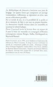 La Bibliotheque Du Faussaire - 4ème de couverture - Format classique