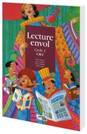 Lecture Envol ; Cm2 ; Livre De L'Elève - Couverture - Format classique