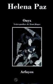 Onyx - Couverture - Format classique