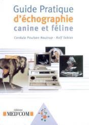 Guide pratique d'échographie canine et féline - Couverture - Format classique