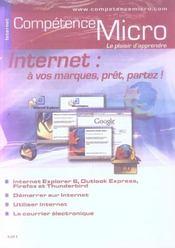 Competence Micro ; Internet : A Vos Marques, Prêt,Partez ! - Intérieur - Format classique