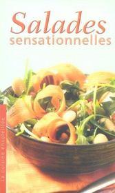 Salades sensationnelles ; la cuisine ensoleillee - Intérieur - Format classique