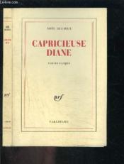 Capricieuse diane - contes alleges - Couverture - Format classique